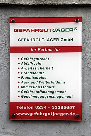 Bild für Firmenschild