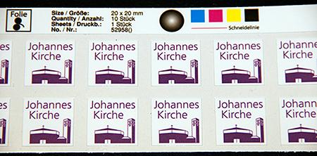 Bild für Aufkleber / Etiketten