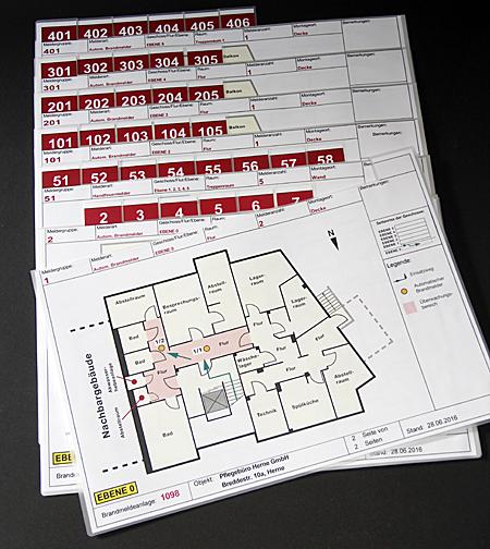 Bild für Feuerwehrlaufkarten