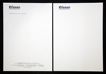 Bild für Briefpapier / Briefbogen